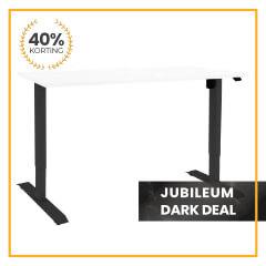 Zit-sta bureau Flex Basic   Jubileum Dark Deal