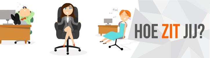 Wat voor een bureaustoelzitter ben jij?