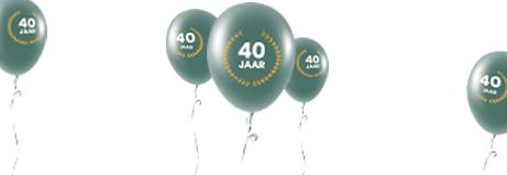 Officetopper bestaat 40 jaar – en wie jarig is, trakteert!