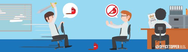5 Tips om ruzies op het kantoor te voorkomen